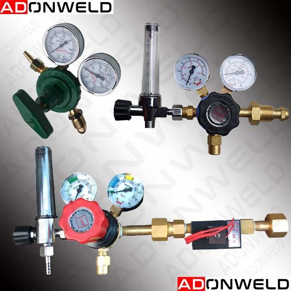 GAS REGULATOR OXYGEN, ARGON , CO2, NITROGEN, LPG