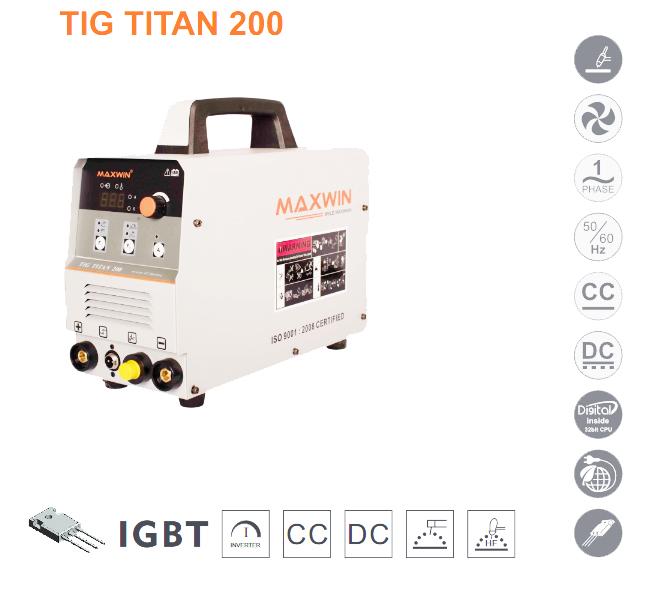 MAXWIN TIG TITAN 200