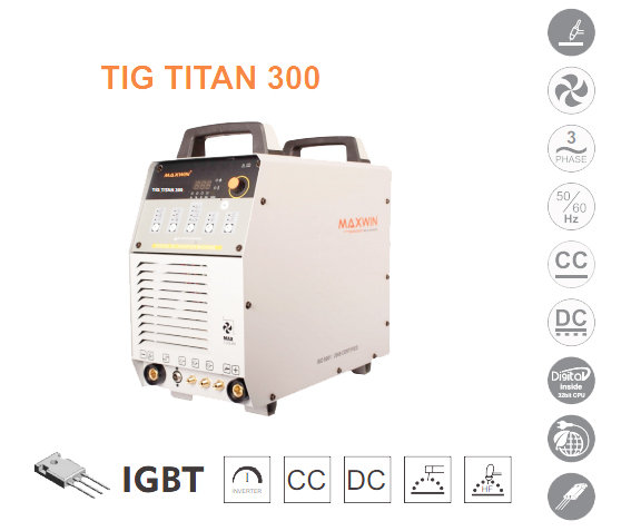 MAXWIN TIG TITAN 300 WELDING MACHINE